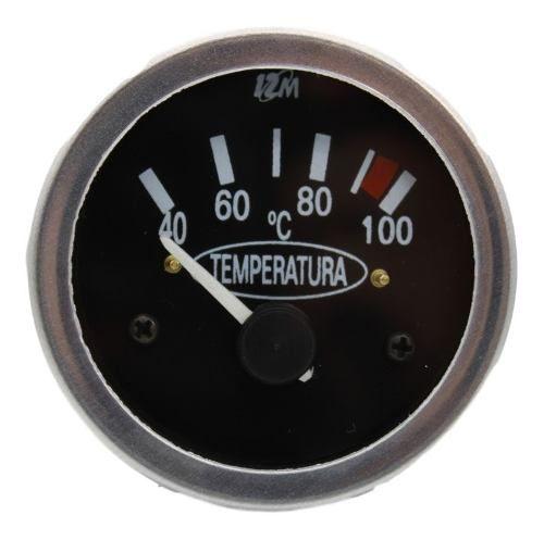 Indicador Marcador Temperatura 24v 60mm 40-100 Graus Univ