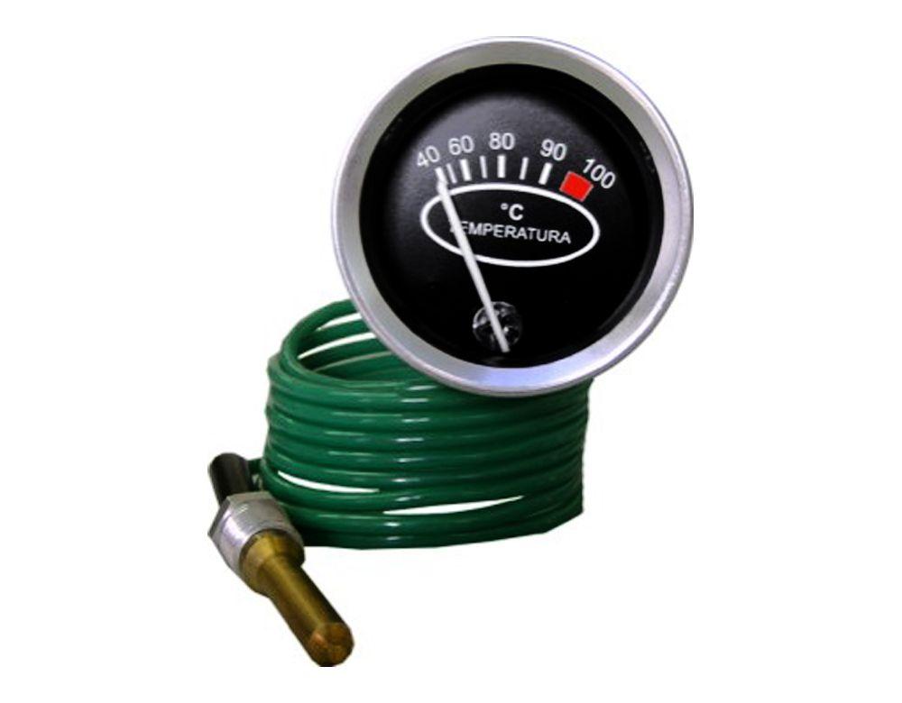 Indicador Marcador Temperatura 40-100Graus 60mm cabo 3mts