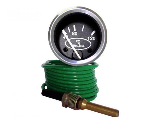 Indicador Marcador Temperatura 40-120Graus 60mm Mwm Cabo 2mt