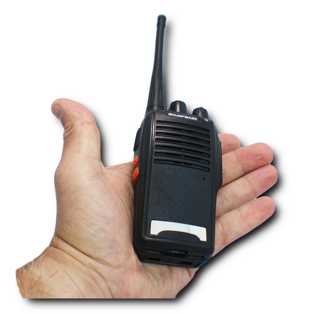 Kit 2 Radios Comunicador Walk Talk 16 Canais Profissional
