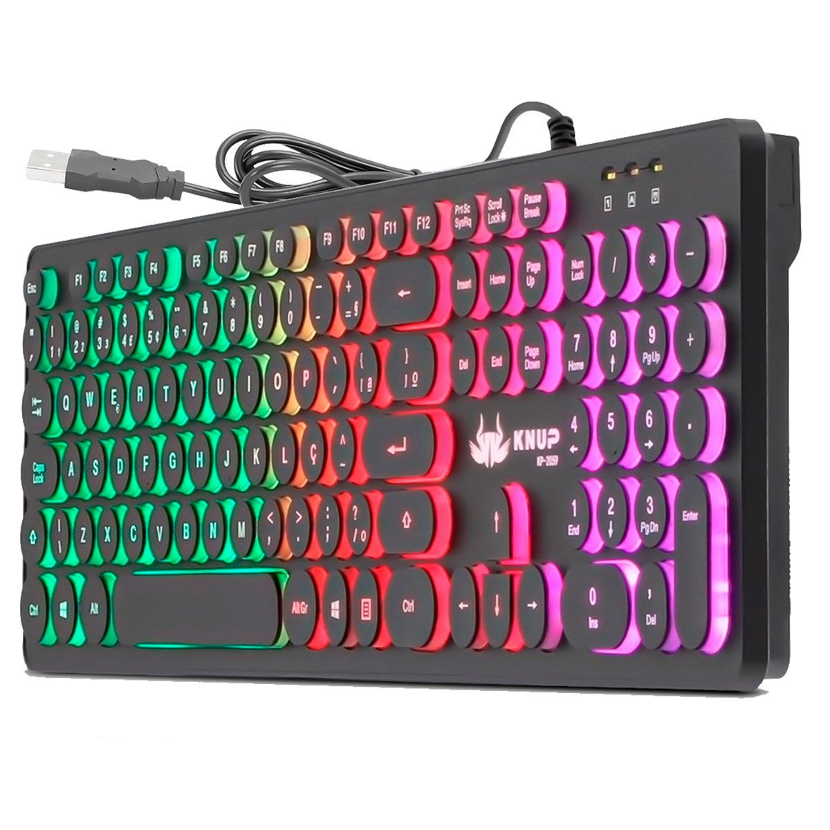 Kit Gamer Completo Headset + Teclado + Mouse + M Pad para PC
