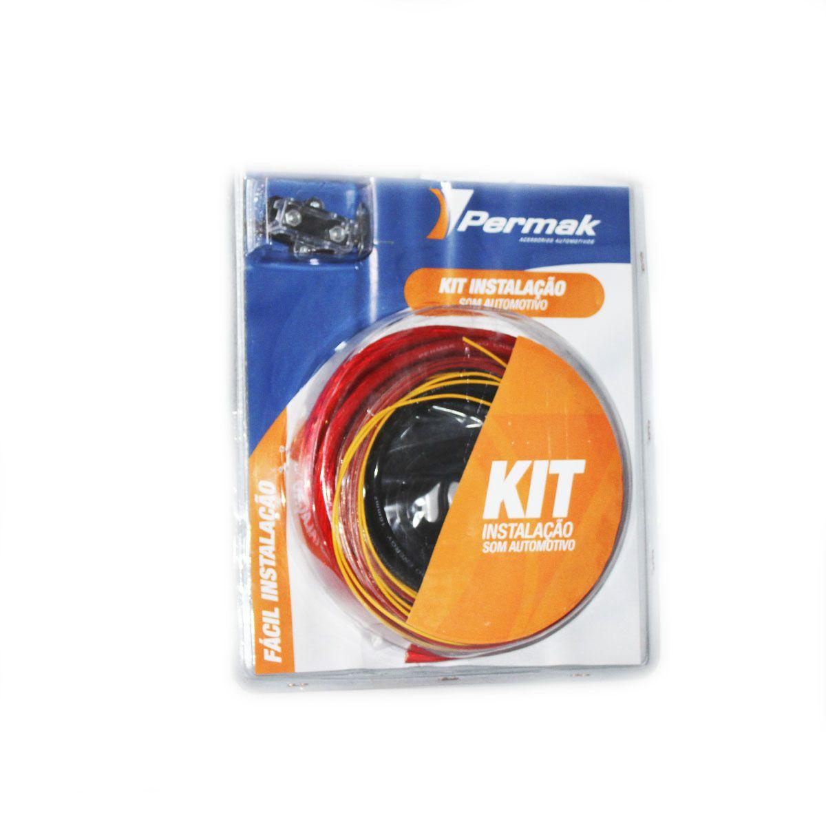 Kit Instalação Som Automotivo Capacidade Potência 1500 W Rms