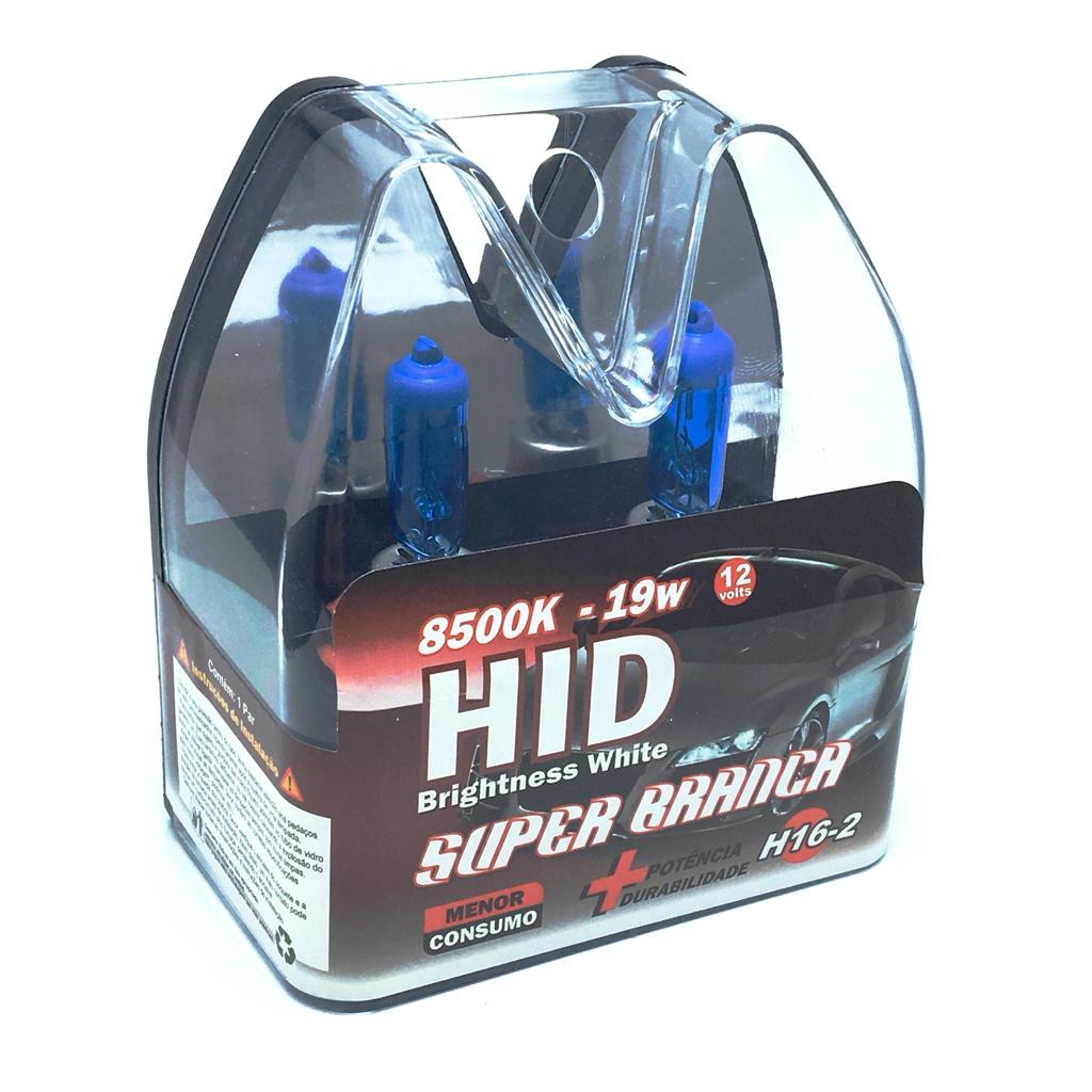 Lampada H16-2 19W 8500K 12V Blister Com 2 Unidades