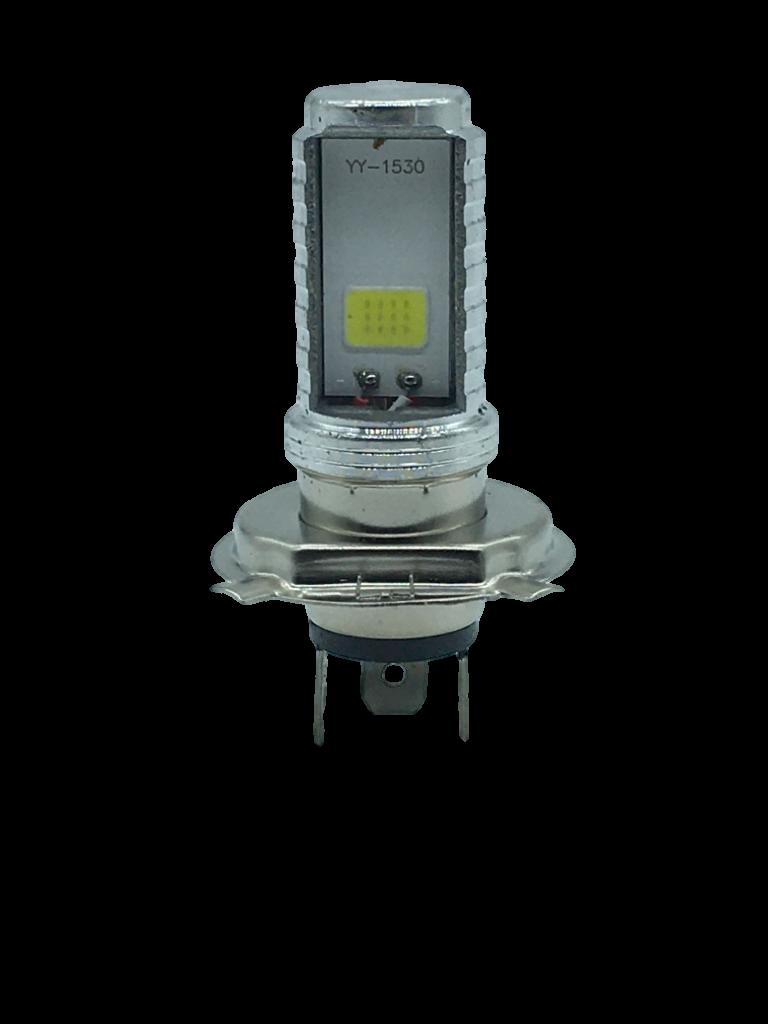 Lampada H4 Led 12V 8000k Efeito Xenon Para Motos