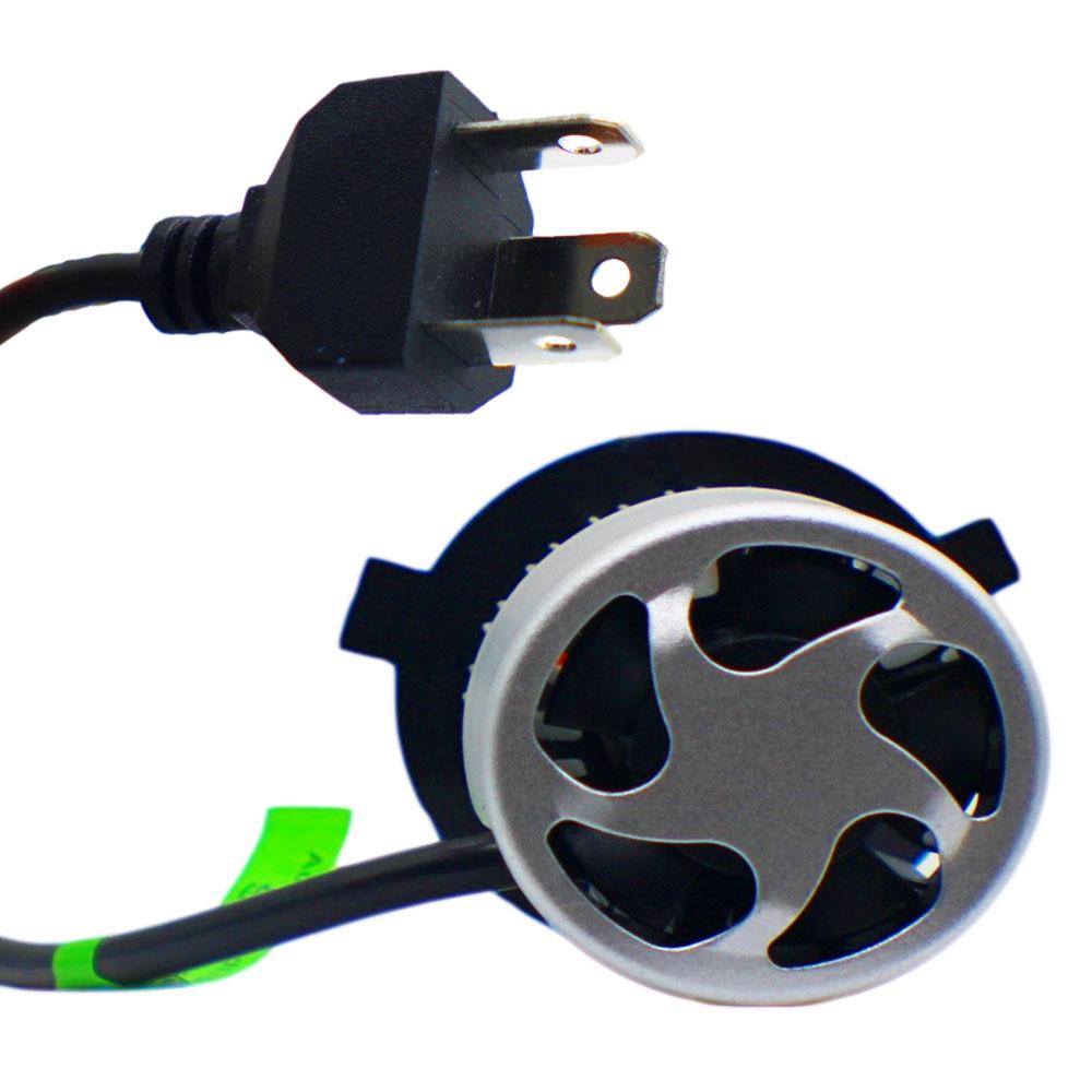 Lampada Led H4 Efeito Xenon Automotiva Par 7600 Lumens 12v