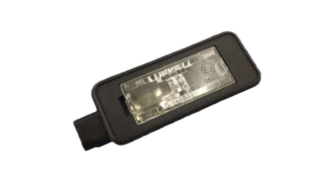 Lanterna Placa Peugeot C3 208 307 308 408 Com Lampada