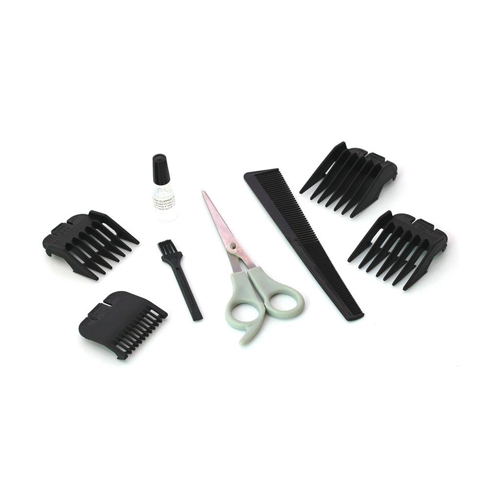 Máquina Cortar Cabelo Barba Modelo Profissional Kit Completo