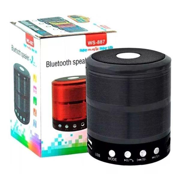 Mini Caixinha De Som Portátil Bluetooth Mp3 Fm Sd Usb