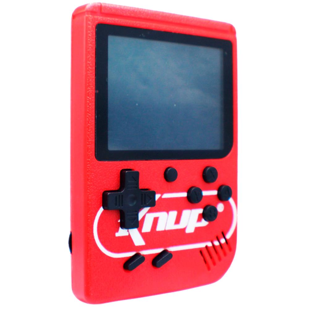 Mini Video Game Portatil Console 400 Jogos Cabo AV TV 8Bits