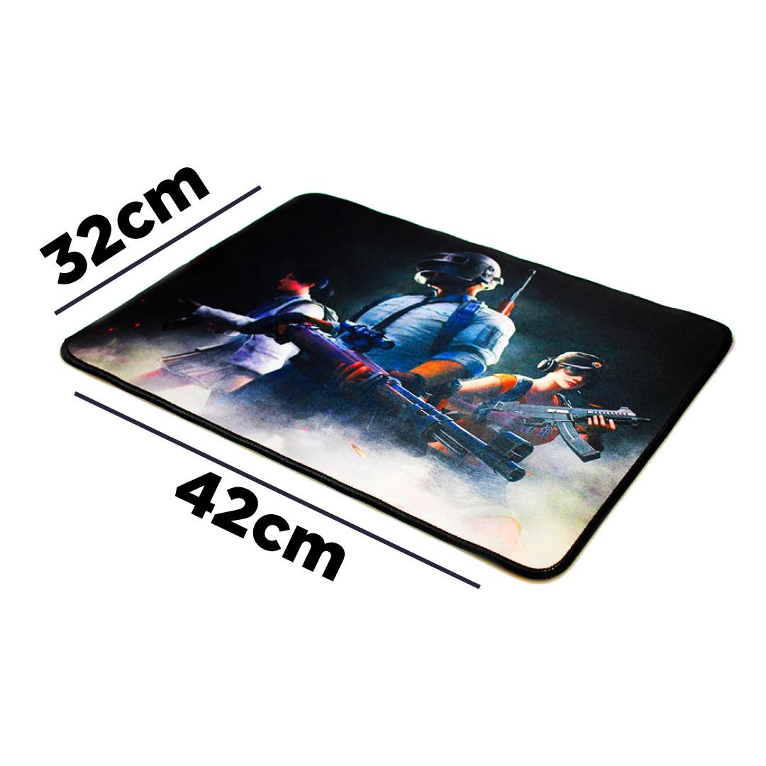 Mousepad Gamer Pc Tamanho Médio 32x42 Alto Desempenho FPS