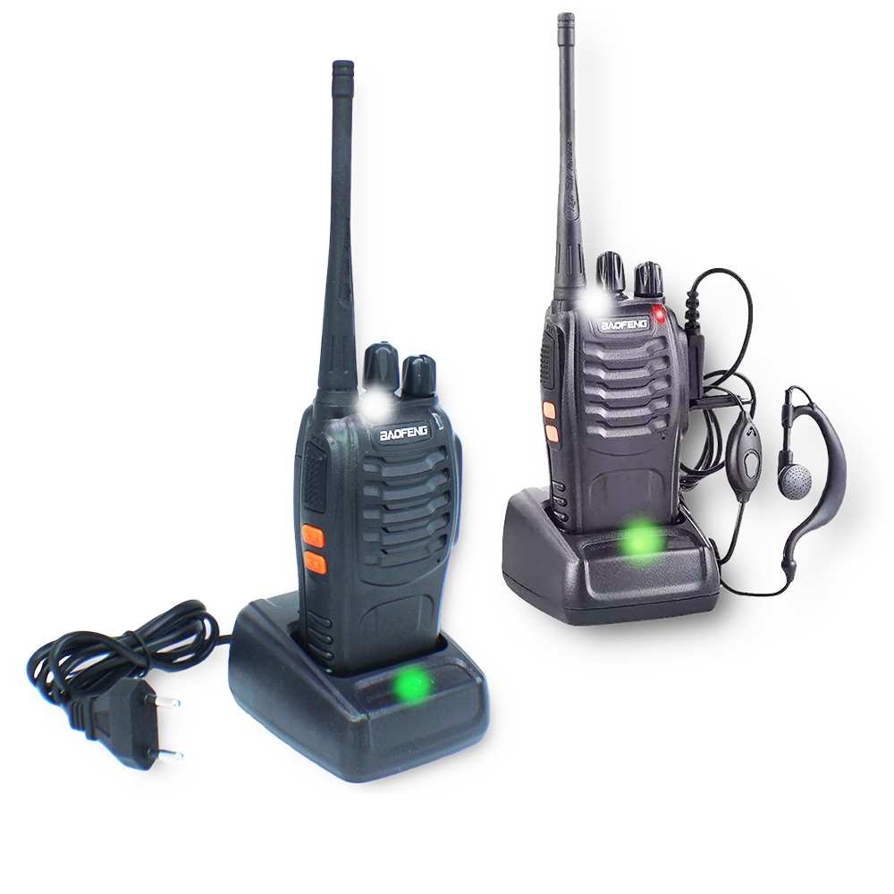 Radio Comunicador Walk Talk 16 Canais Profissional