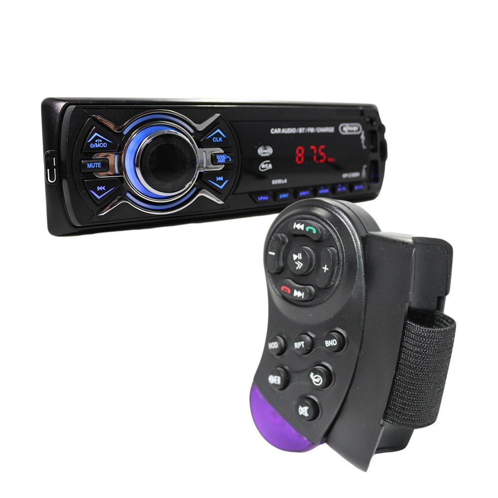 Som Radio Automotivo Bluetooth Usb Cartão SD Controle S/Fio