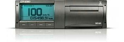 Tacografo Digital Seva De Fita Dt-1050