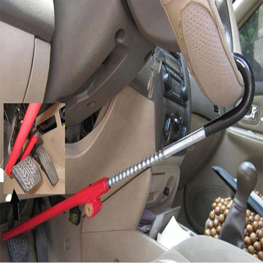 Trava Bloqueio Volante Anti Furto Pedal Automotivo