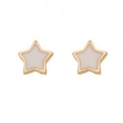 Brinco Infantil Estrela Branca 4562