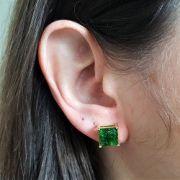 Brinco Quadrado Verde Fusion 4301