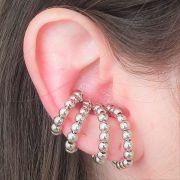 Brinco Tipo Earhook Bolas 4321