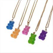 Colar Gummy Bear Colorido Urso 5047