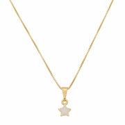 Colar Infantil Estrela Branca 4561