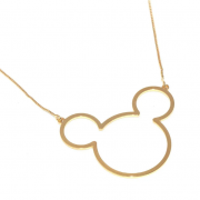 Colar Liso Mickey 4839