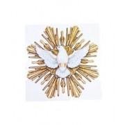 Colar Medalha  Espírito Santo com Moldura em Microzirônias 4955