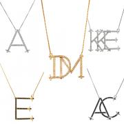 Colar Personalizado Monograma Luxo