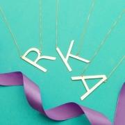 Kit Revenda com Colares de Letra