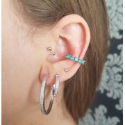 Piercing de Cristais Coloridos 4121