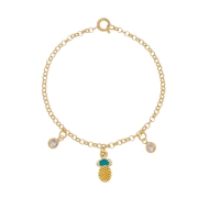 Pulseira Infantil Abacaxi 3991