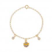 Pulseira Infantil Mulher Maravilha Inspired Tiffany 4338