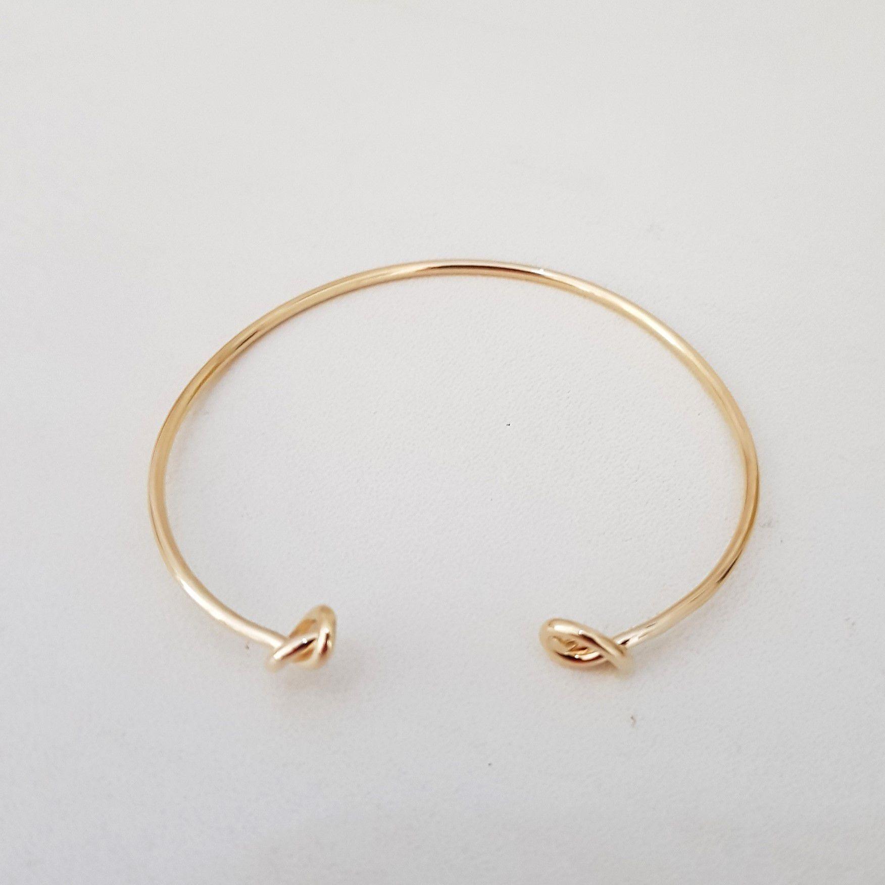 Bracelete Com Dois Nós 4130