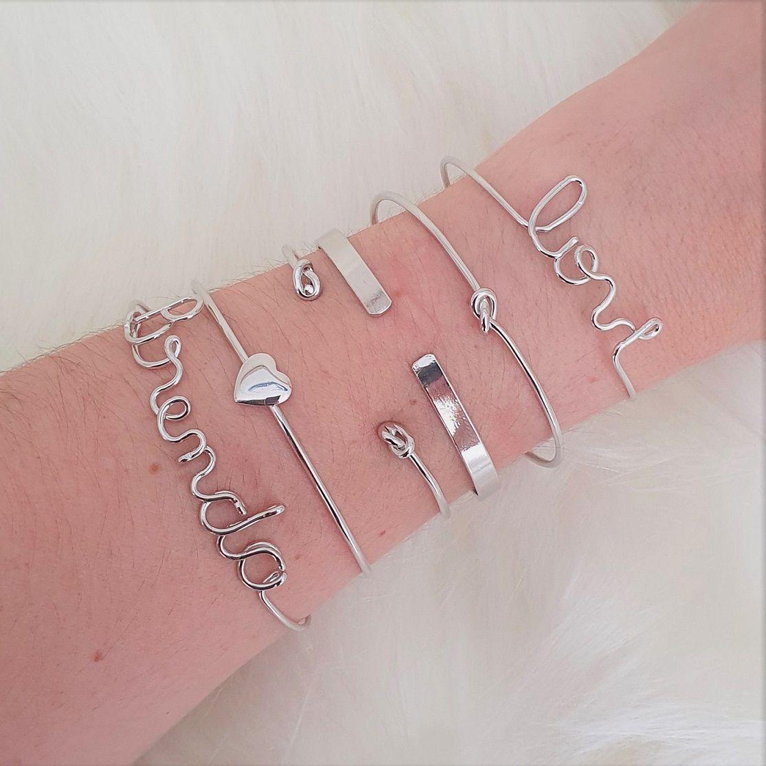 Bracelete de Coração Liso 4622
