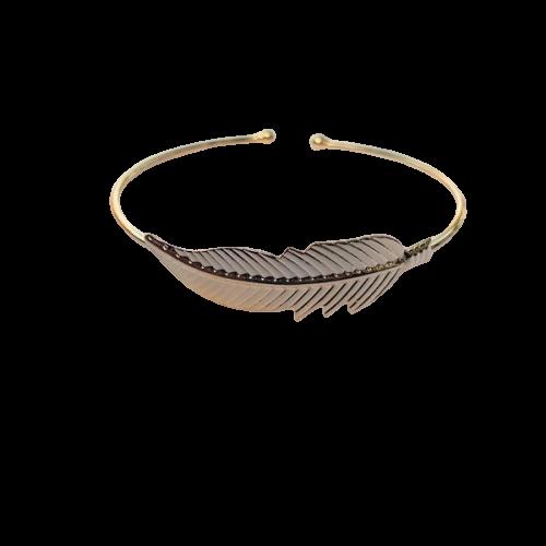 Bracelete Pena Ajustável 4726