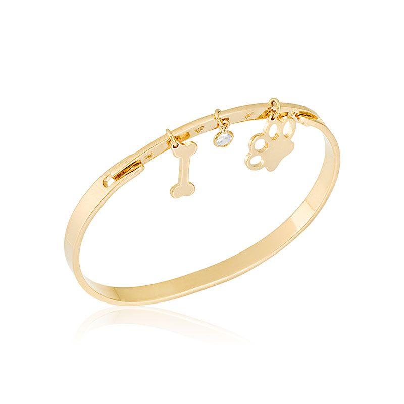 Bracelete Pet com Patinha 4663
