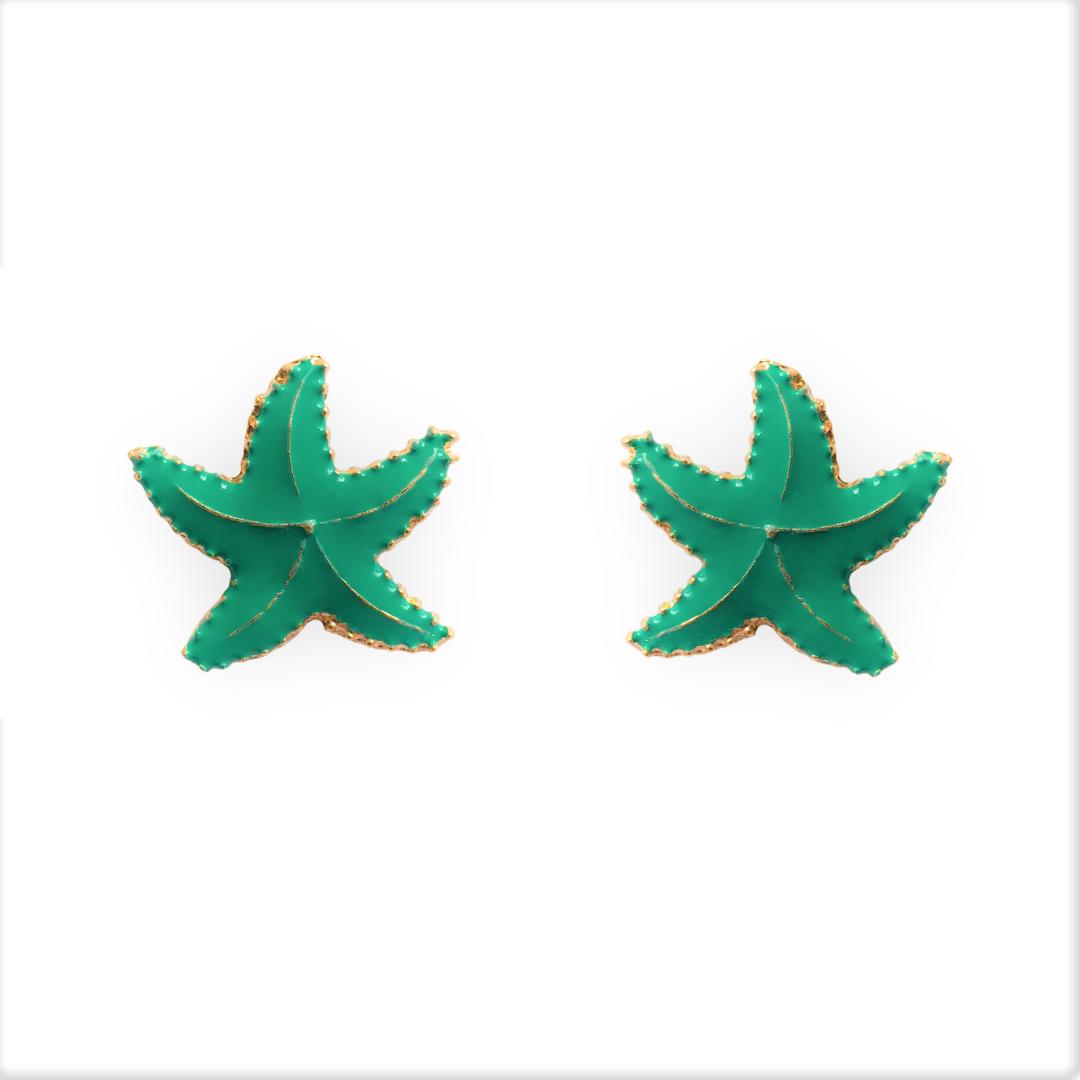 Brinco Estrela do Mar Esmaltado 5059