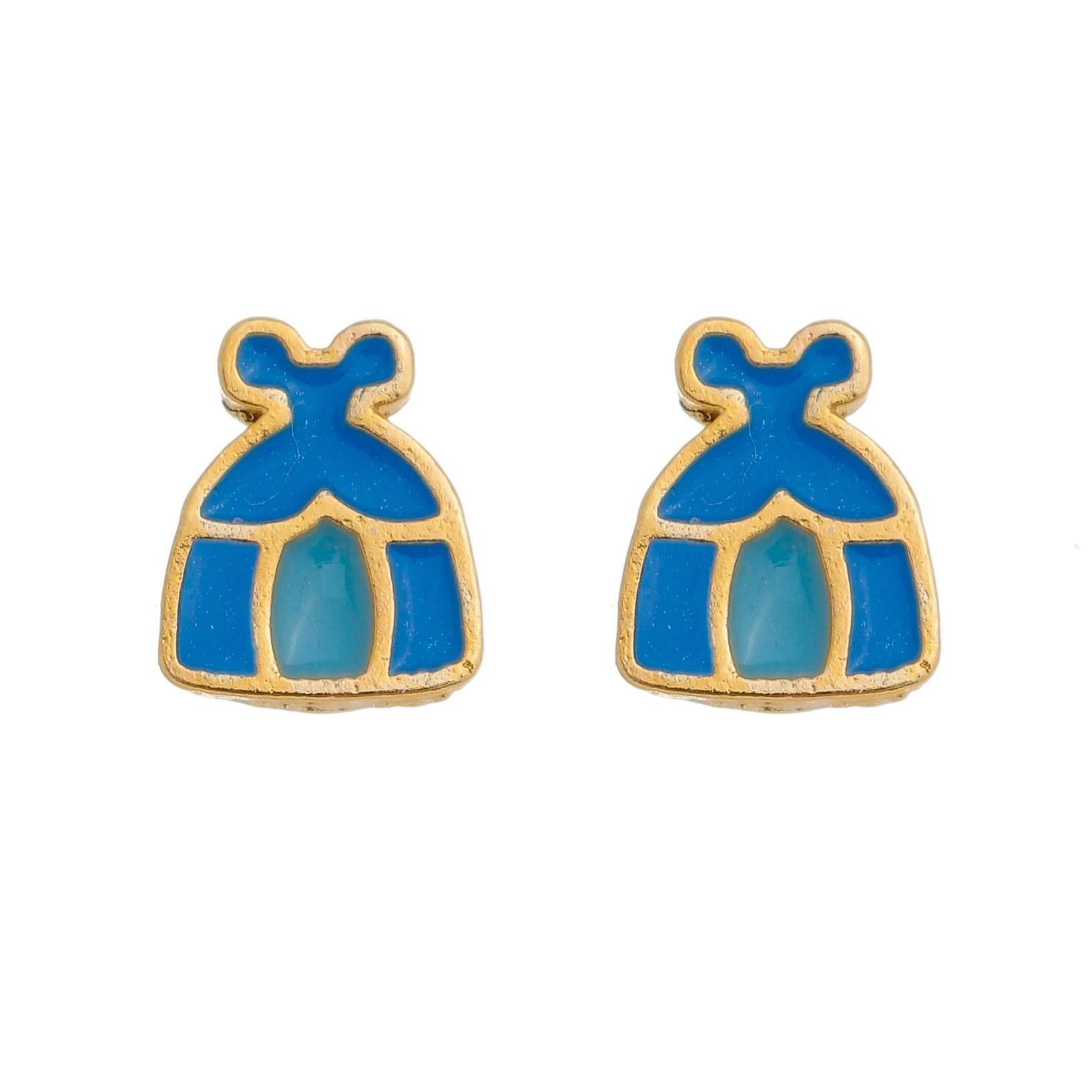 Brinco Infantil Vestido Cinderela 4112