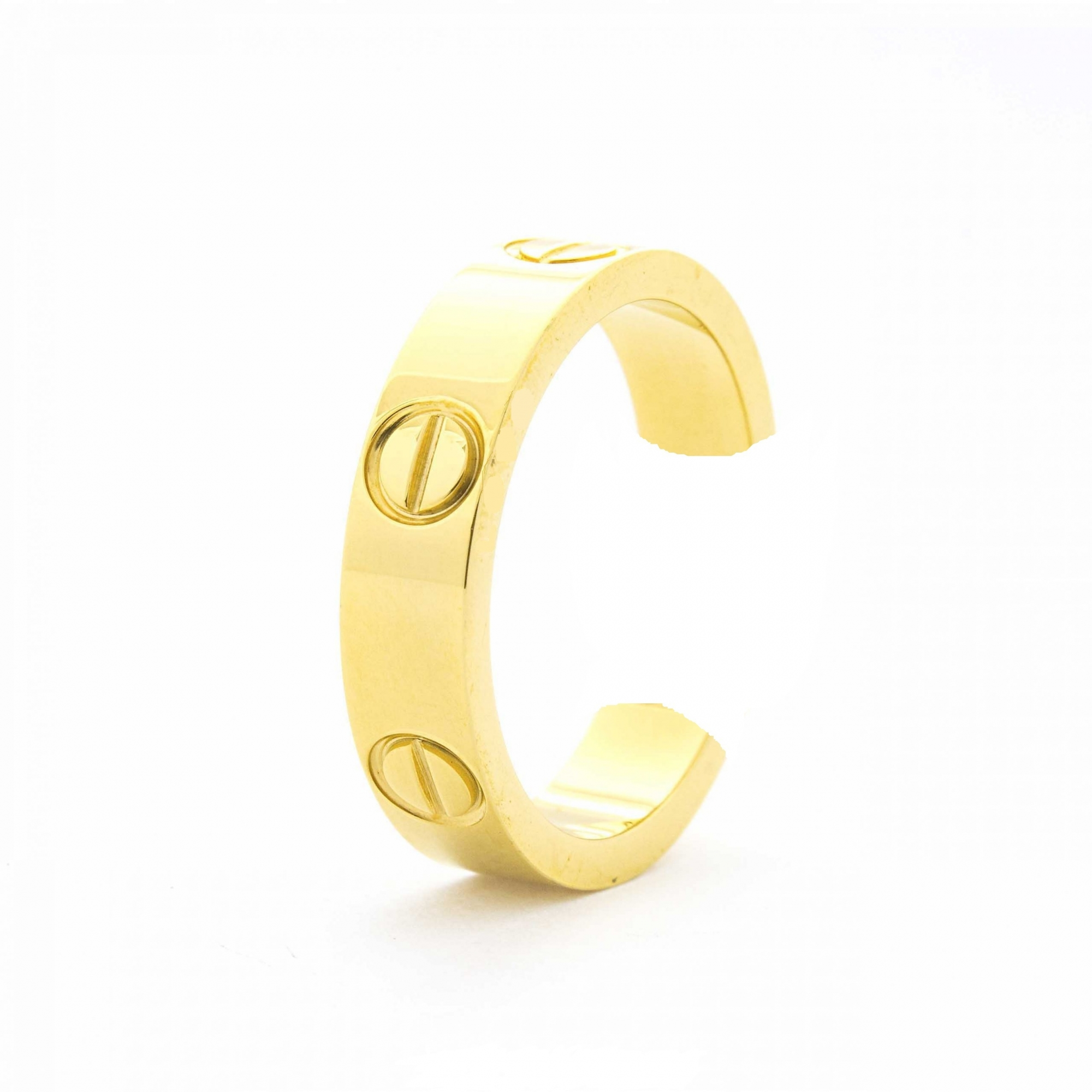 Brinco Piercing Fake Cartier Love 5217