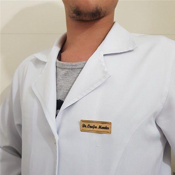Broche Personalizado Placa com Ripas
