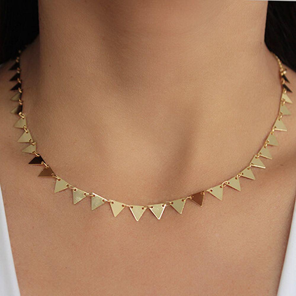 Chocker Triângulos Chapinha 4565
