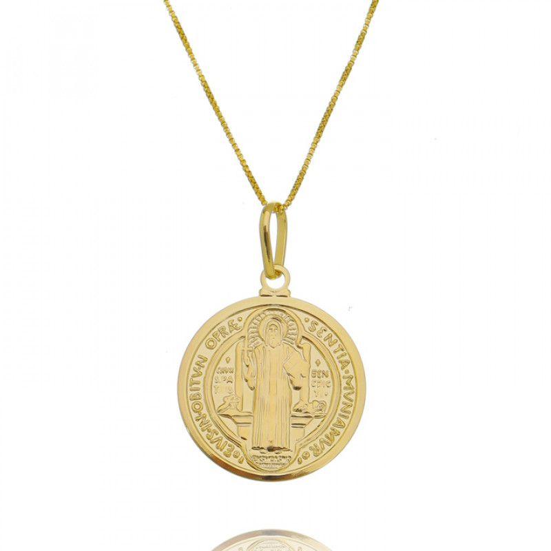 Colar Big Medalha de São Bento 4368