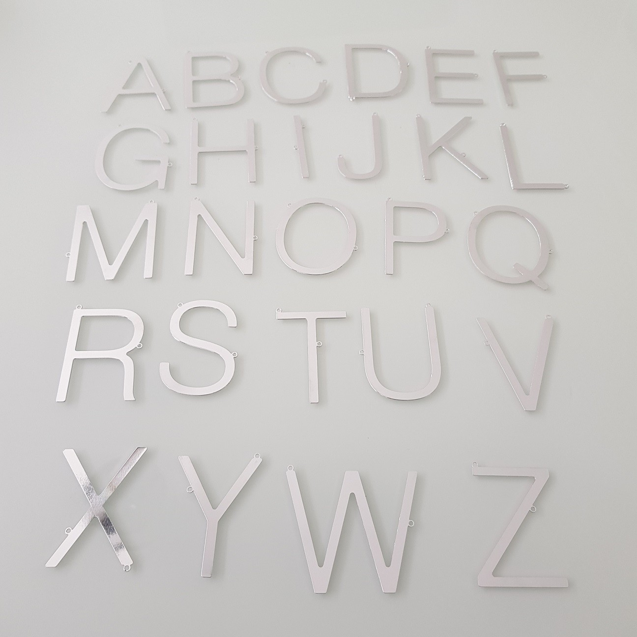 Colar Personalizado de Letra Inicial Grande Transversal 4100