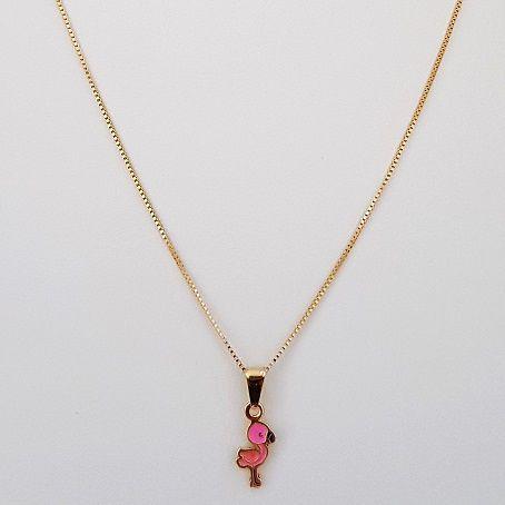 Colar Flamingo Infantil 4107