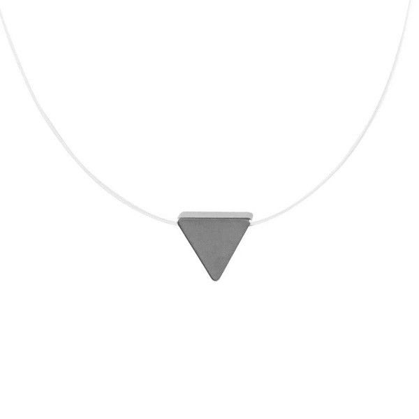 Colar Nylon Triângulo 4870