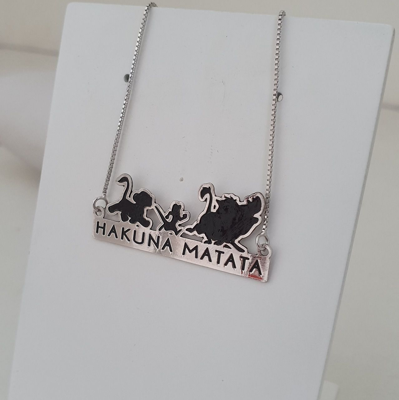 Colar Personalizado Hakuna Matata