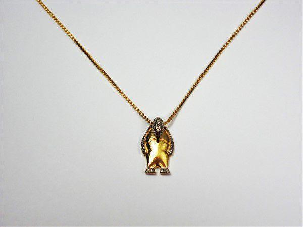 Colar Pinguim Microzircônias 2915