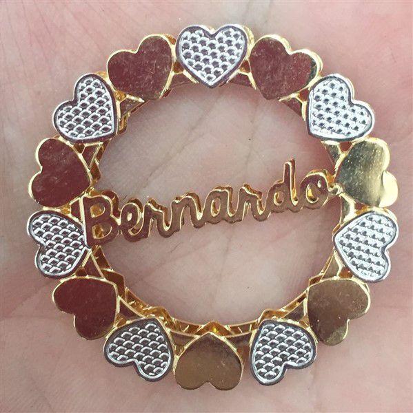 Mandala Personalizada com Nome Central