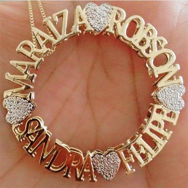 Mandala Personalizada com Nomes