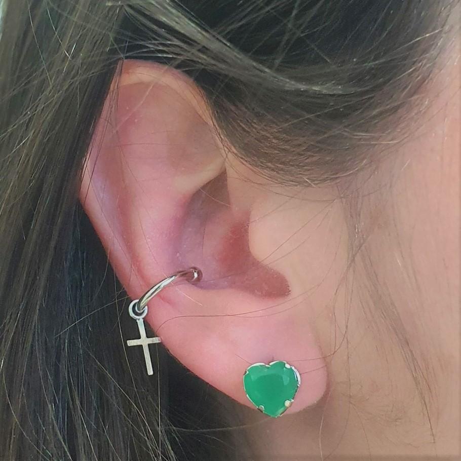 Piercing Pingente de Cruz 4655