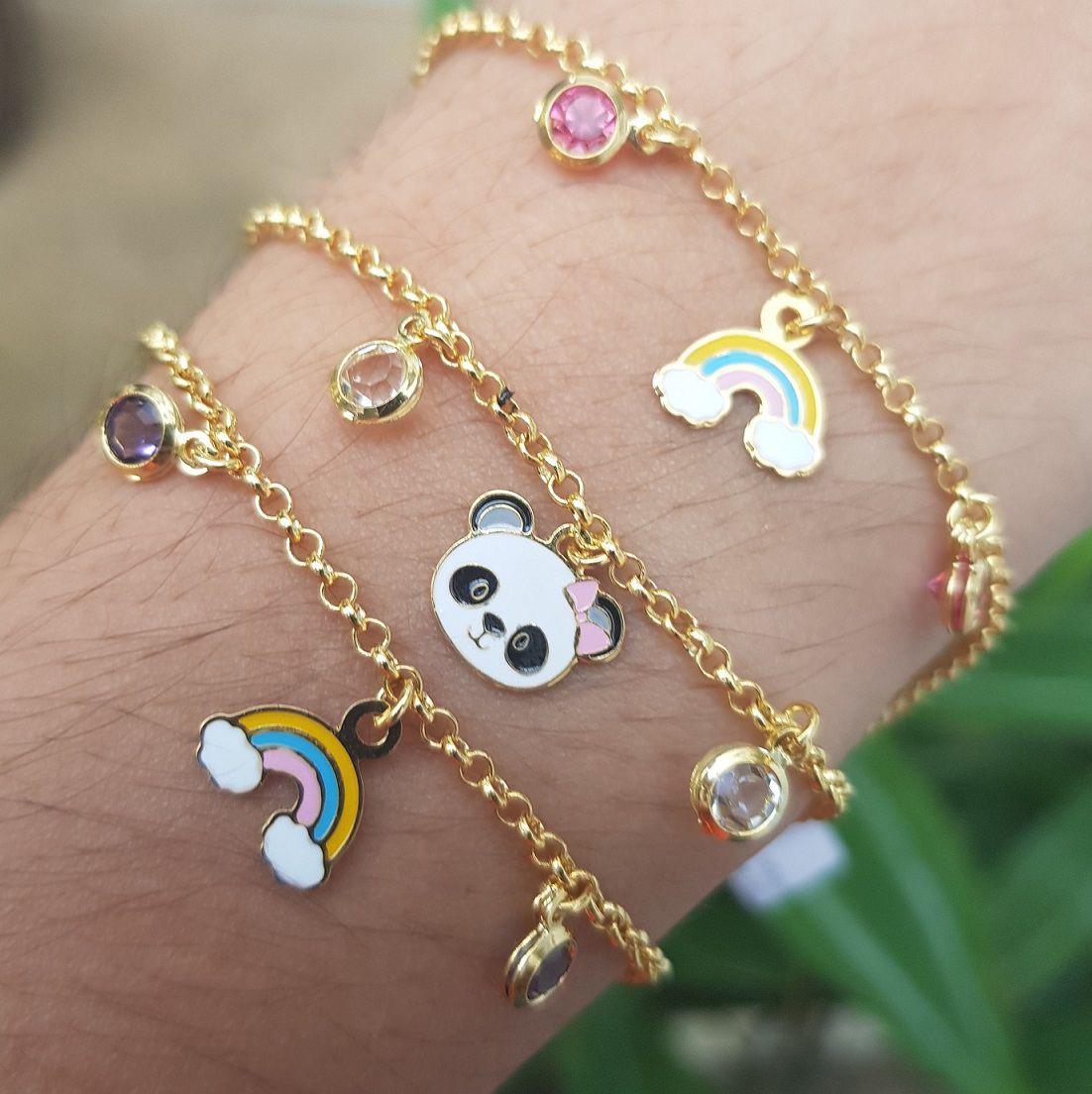 Pulseira Infantil Panda 4181
