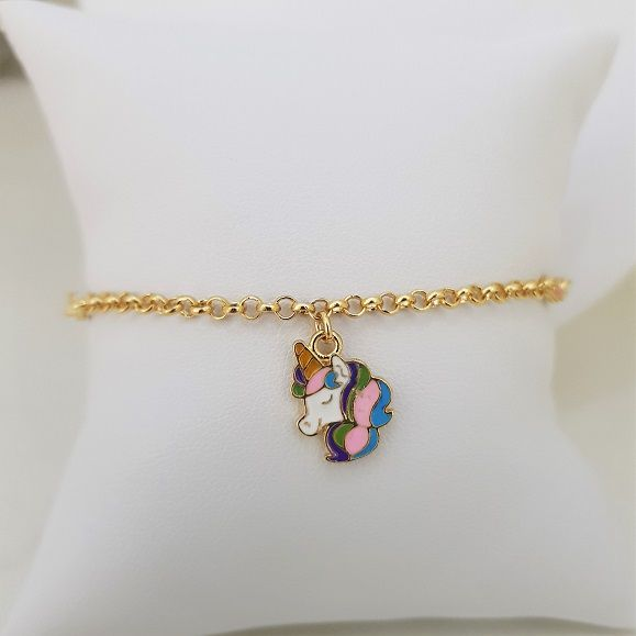Pulseira Infantil Unicórnio Inspired Tifanny 3985